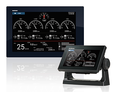 NEW SUZUKI MULTI-FUNCTION DISPLAY