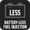 BATTERY-LESS FUEL INJECTION